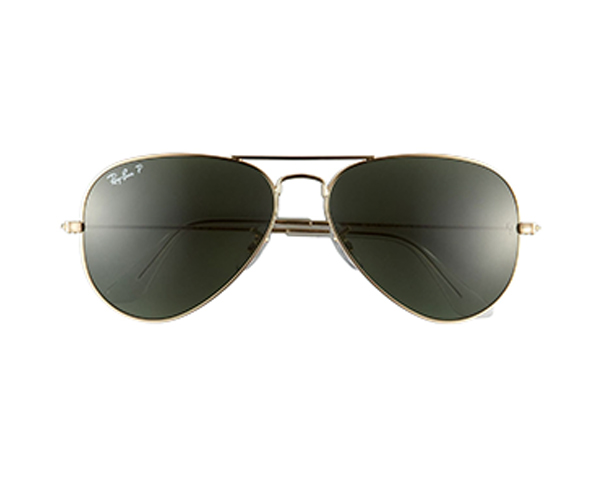 'Polarized Original Aviator' 58mm Sunglasses RAY-BAN