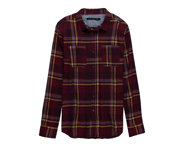 Stoic Maroon Bells Flannel Shirt - Men'sjpg