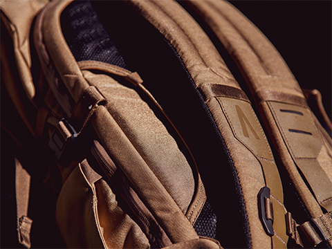 Boundary Supply Errant Pack straps close up
