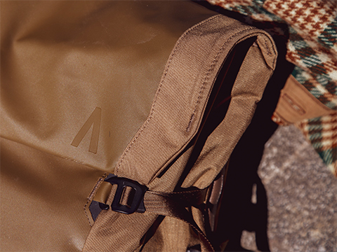 Boundary Supply Errant Pack top fold close up