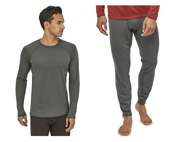 Patagonia Men's Capilene® Midweight Bottoms and tops on man
