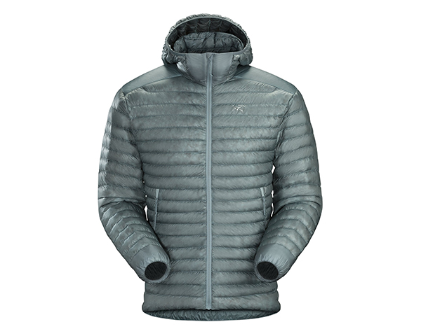 arcteryx CERIUM SL HOODY on white background