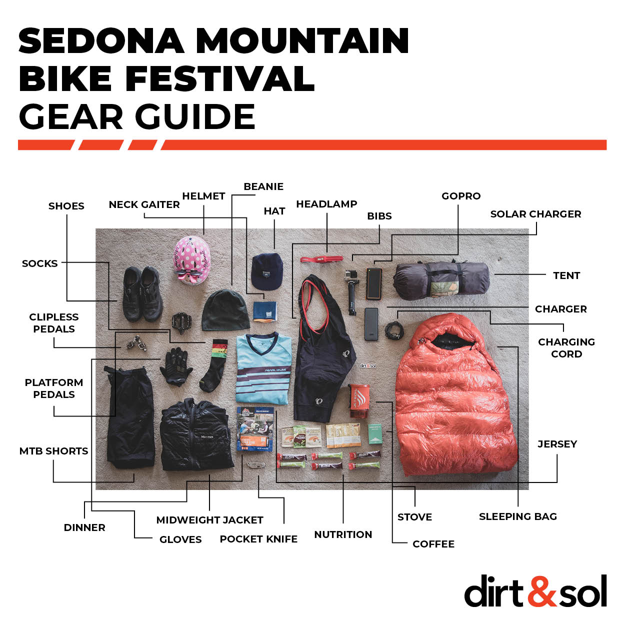 Sedona Mountain Bike Festival Gear Guide