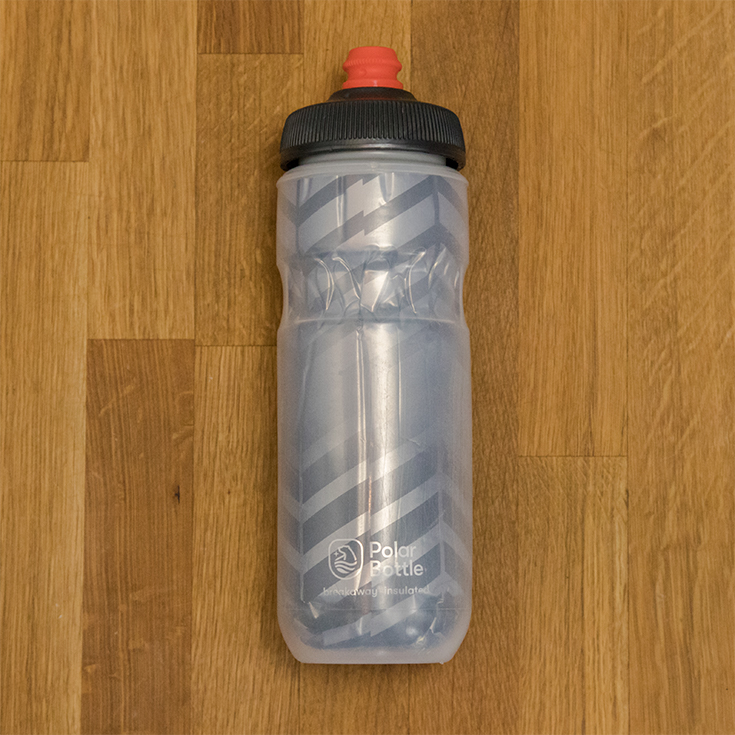 Polar bottle on counter
