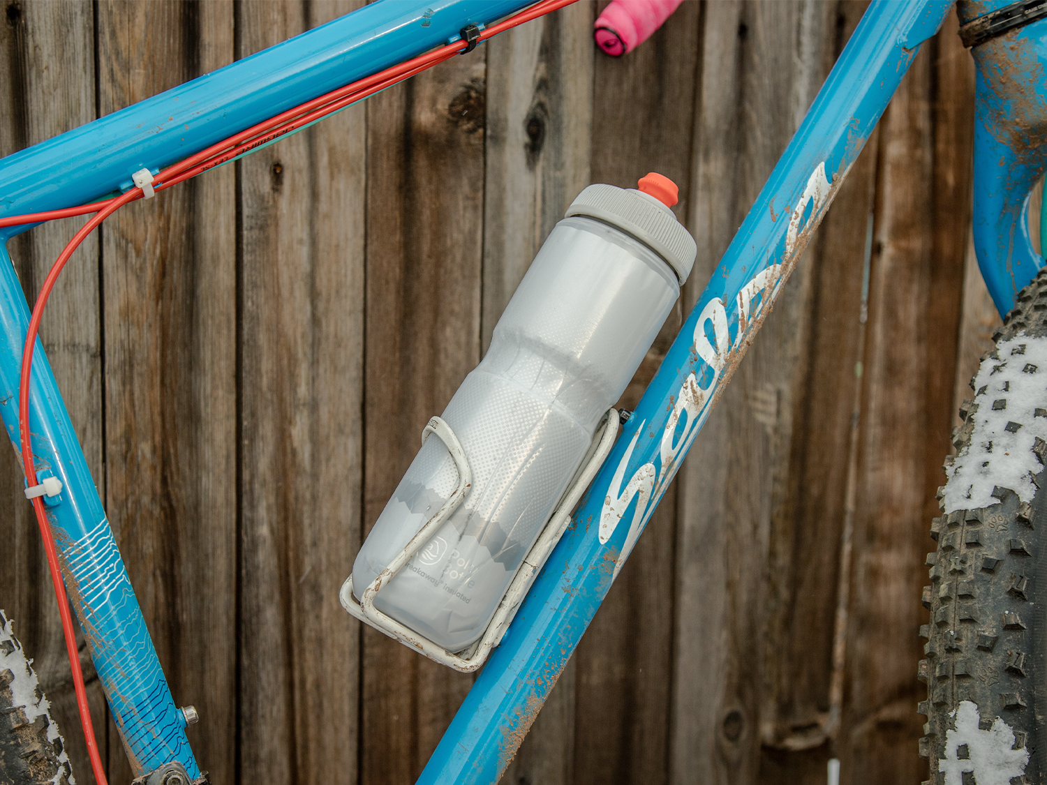 Polar bottle on bike