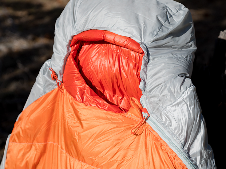 Torchlight UL 30 Sleeping Bag Insulated Tube Seals Out Drafts