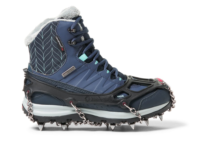 Fall hiking gear traction Kahtoola MICROspikes Traction System