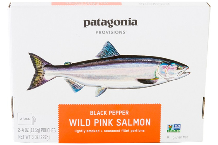 Fall hiking gear food Patagonia Provisions Wild Pink Salmon