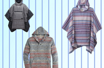 Ponchos for the Chill of the Summer Nights