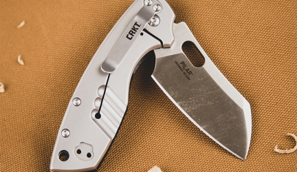 CRKT Pilar Large with G10 Handle Knife Review