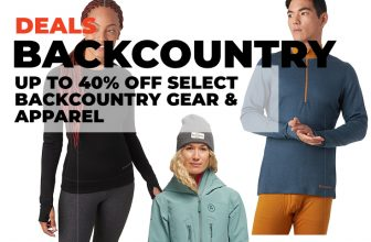 Backcountry Deals: Up to 40% Off Select Backcountry Gear & Apparel